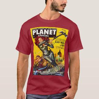 IKONENHAFTE RETRO SCI FI-ILLUSTRATION T-Shirt