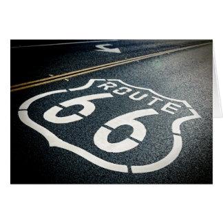 Ikonenhafter Weg 66 Karte