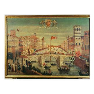 IL Gioco Del Ponte dei Pisani Postkarte