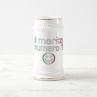 IL Marito Numero 1 - Ehemann der Nr.-1 auf Bierkrug