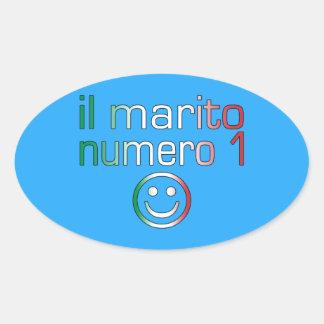 IL Marito Numero 1 - Ehemann der Nr -1 auf italien Sticker