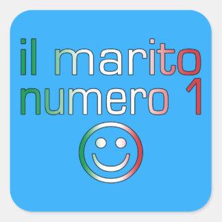 IL Marito Numero 1 - Ehemann der Nr.-1 auf italien Aufkleber