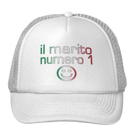 IL Marito Numero 1 - Ehemann der Nr.-1 auf italien Baseballmütze