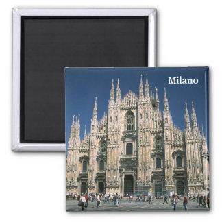 """""""ILDuomo, Mailand """" Quadratischer Magnet"""