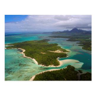 Ile ZusatzCerfs, Mauritius Postkarte
