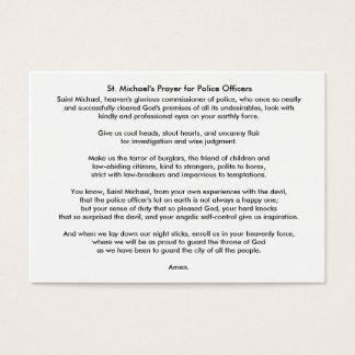 ILEFSA, Inc-Empfehlung/St Michael Gebets-Karte Jumbo-Visitenkarten