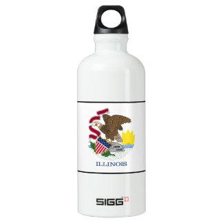 Illinois Aluminiumwasserflasche