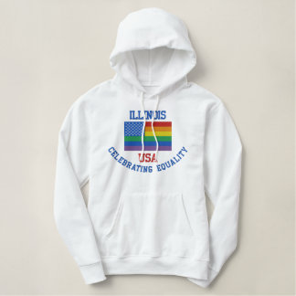 ILLINOIS, das Gleichheits-Sweatshirt feiert Hoodie
