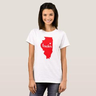 Illinois-Lehrer-T-Shirt T-Shirt