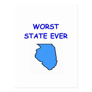 Illinois Postkarte