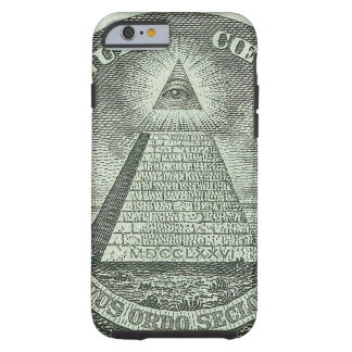Illuminati - alles sehende Auge Tough iPhone 6 Hülle