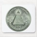 Illuminati - alles sehende Auge Mousepads