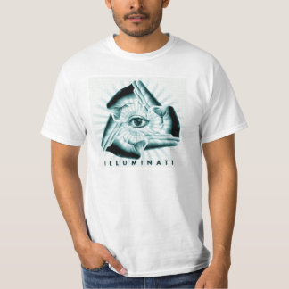 Illuminati alles sehende Augen-Grafik-Shirt Hemd