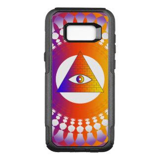 Illuminati Augenalternative OtterBox Commuter Samsung Galaxy S8+ Hülle