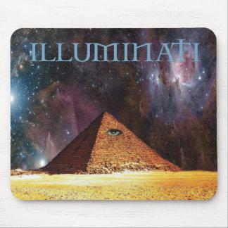 Illuminati galaktisches Geheimnis Mousepad