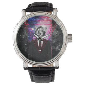 Illuminati Katze Armbanduhr