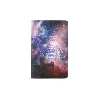 Illuminati Nebelfleck Moleskine Taschennotizbuch