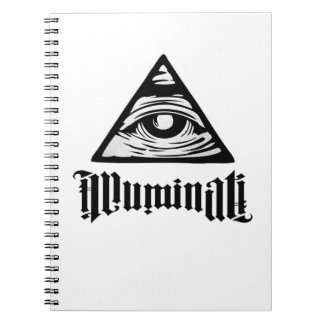Illuminati Spiral Notizblock