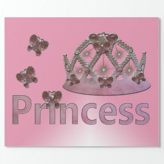 Illusions-Prinzessin Crown Geschenkpapier