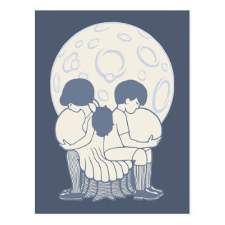 Illusions-Schädel 913 Postkarte