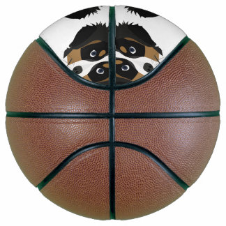 Illustration Bernese Gebirgshund Basketball