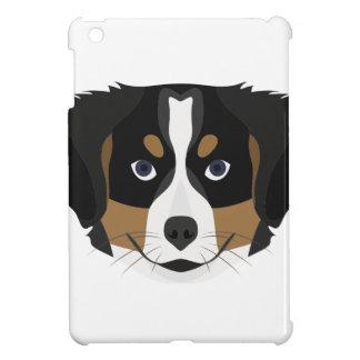 Illustration Bernese Gebirgshund iPad Mini Hülle