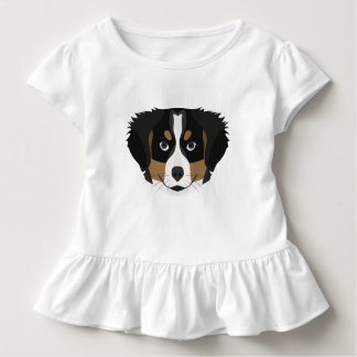 Illustration Bernese Gebirgshund Kleinkind T-shirt