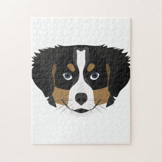 Illustration Bernese Gebirgshund Puzzle