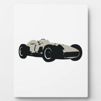 Illustration des Bewegungslaufenden Autos gedruckt Fotoplatte
