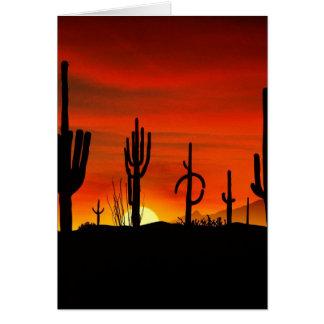 Illustration des Kaktusbaums wenn der Karte