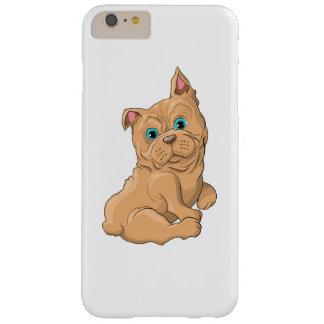 Illustration einer niedlicher Hundfranzösischen Barely There iPhone 6 Plus Hülle