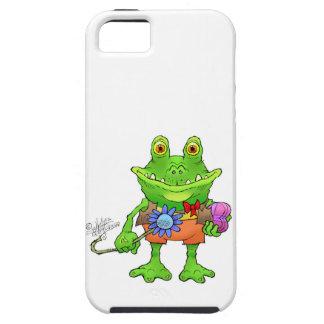 Illustration eines Frosches iPhone 5 Schutzhülle