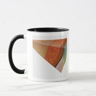 Illustration eines Segments der Erde, stellend dar Tasse