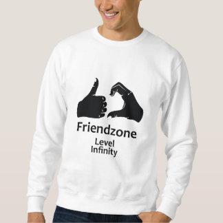 Illustration Friendzone waagerecht ausgerichtete Sweatshirt