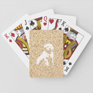 Illustration im Granitmuster Spielkarten