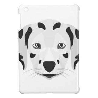 Illustration verfolgt Gesicht Dalmatiner iPad Mini Hülle