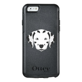 Illustration verfolgt Gesicht Dalmatiner OtterBox iPhone 6/6s Hülle