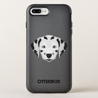 Illustration verfolgt Gesicht Dalmatiner OtterBox Symmetry iPhone 8 Plus/7 Plus Hülle