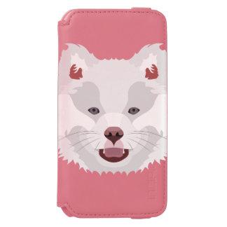 Illustration verfolgt Gesicht finnisches Lapphund Incipio Watson™ iPhone 6 Geldbörsen Hülle