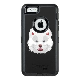 Illustration verfolgt Gesicht finnisches Lapphund OtterBox iPhone 6/6s Hülle