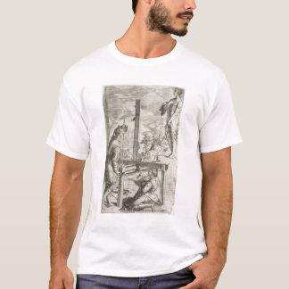 """Illustration Vignolas """"von den zwei Regeln von T-Shirt"""
