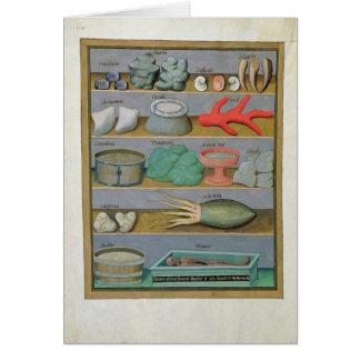 Illustration vom 'Buch der einfachen Medizin Karte