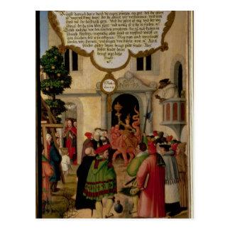 Illustration von Christus Unterricht Postkarte