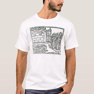 Illustration 'von der Reise von St. Brendan T-Shirt