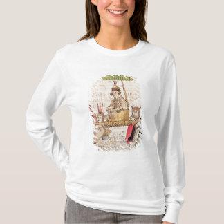 Illustration von Huascar Inka T-Shirt
