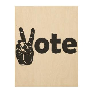 Illustrations-Abstimmung für Frieden Holzdruck