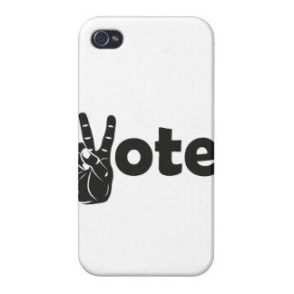 Illustrations-Abstimmung für Frieden iPhone 4 Case