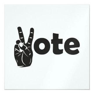 Illustrations-Abstimmung für Frieden Karte