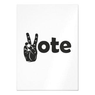 Illustrations-Abstimmung für Frieden Magnetische Karte