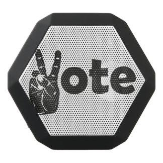 Illustrations-Abstimmung für Frieden Schwarze Bluetooth Lautsprecher
